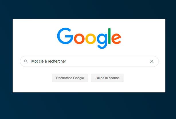 Les points importants des résultats de recherche google