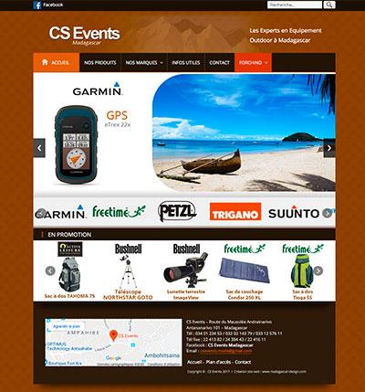Création site web ecommerce France madagascar Suisse